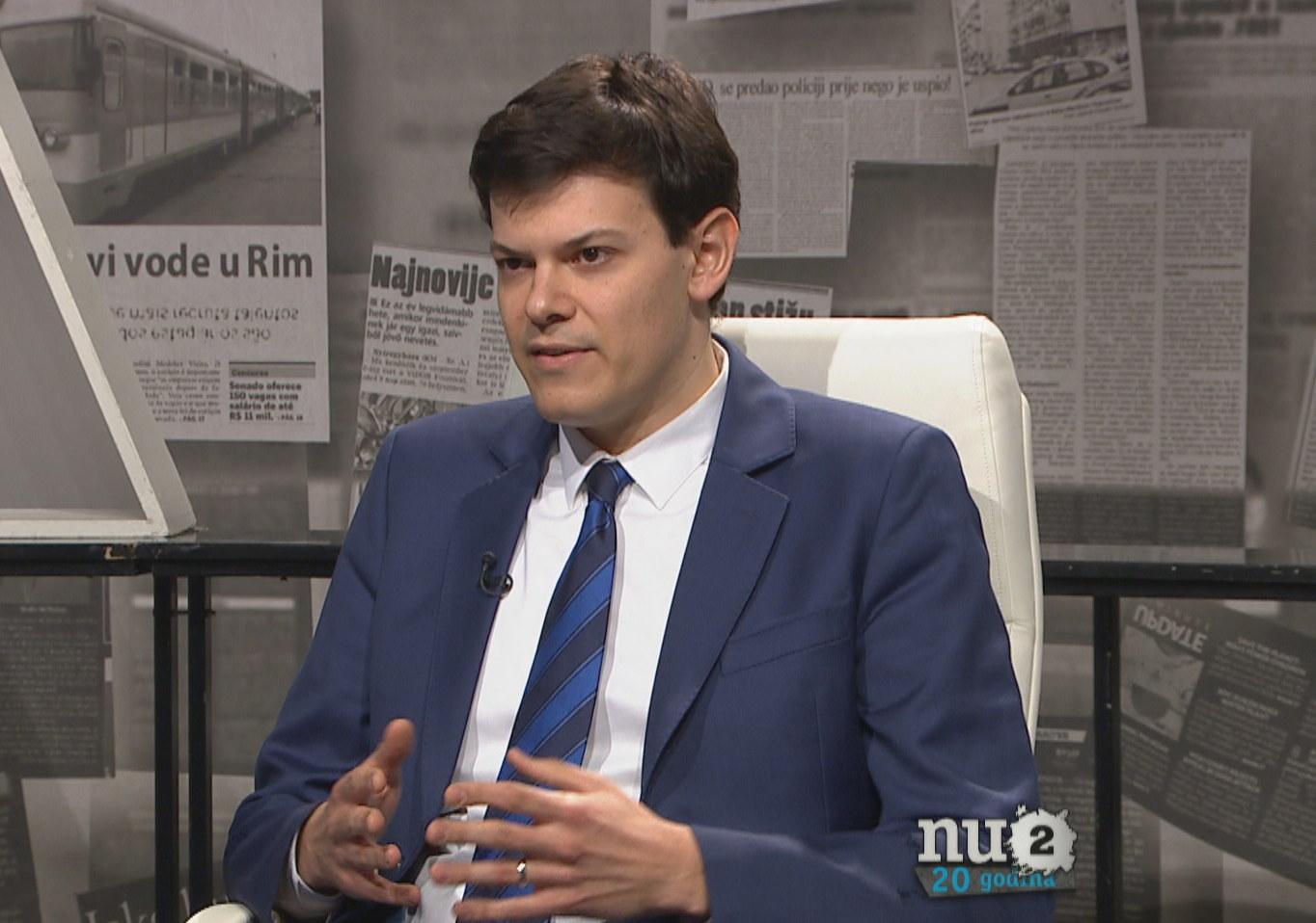 Vuk Vuković gost u emisiji Nedeljom u 2: transparentnost kao oblik ekonomskih mjera