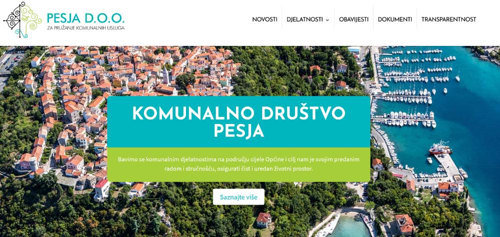 PESJA iz Omišlja prva komunalna tvrtka s potpunom transparentnošću!